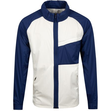 Jacket Shield Statement Jacket Sail/Blue Void - SS19 Nike Golf Picture