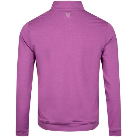 Golf undefined Perth Melange Quarter Zip Dayflower - SS19 made by Peter Millar