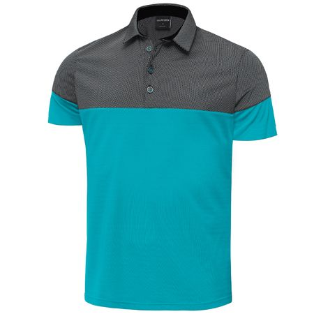 Polo Milton Ventil8 Plus Bluebird/Black - SS19 Galvin Green Picture