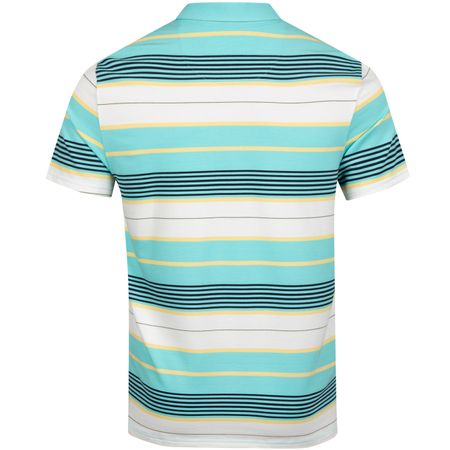 Golf undefined Vacation Stripe Polo Tanager Turquoise - SS19 made by Original Penguin