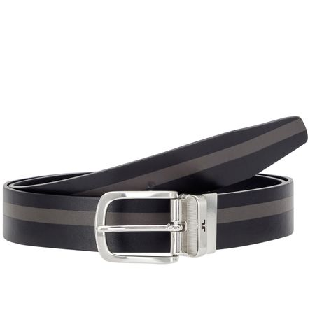 Belt Moriarty Crafted Leather Black - SS19 J.Lindeberg Picture