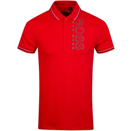 Polo Paule Pro Bright Red - SS19 BOSS Picture