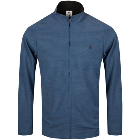 Jacket Power Surge Heather Vintage Indigo - SS19 TravisMathew Picture