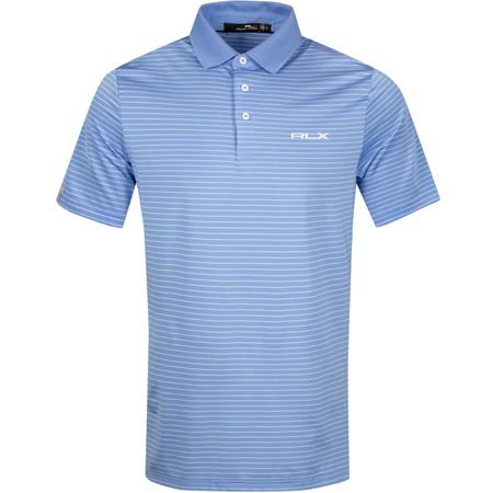 Polo Lightweight Airflow Stripe Cabana Blue/White - SS19 Polo Ralph Lauren Picture
