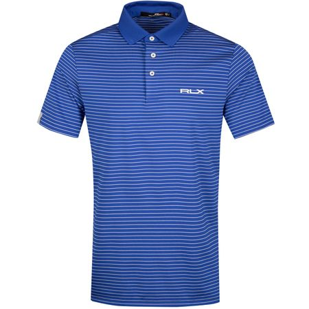 Golf undefined Lightweight Airflow Stripe Royal Blue - SS19 made by Polo Ralph Lauren