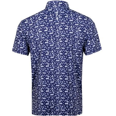 Polo Jaguar Palm Print Airflow French Navy - SS19 Polo Ralph Lauren Picture