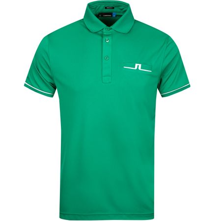 Polo Petr Regular Fit TX Jersey Golf Green - SS19 J.Lindeberg Picture