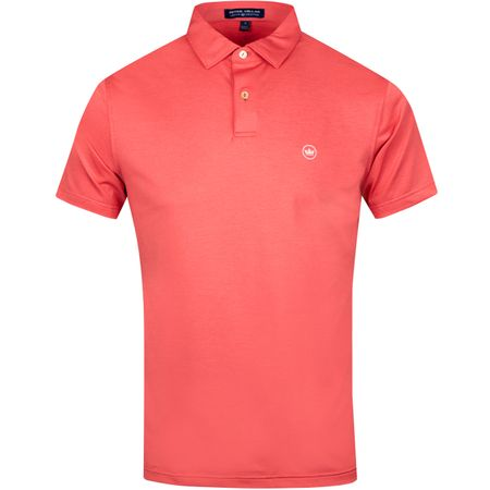 Polo Solid Jersey Tour Fit Cape Red - SS19 Peter Millar Picture