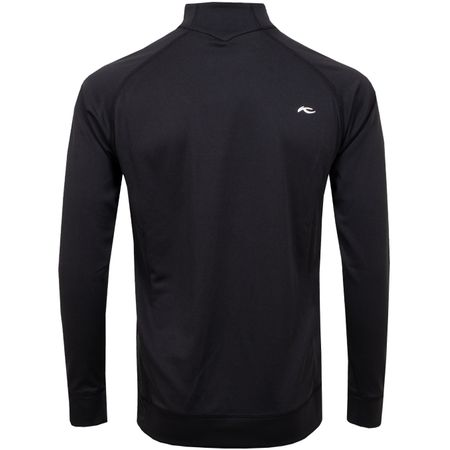 Golf undefined Keano Half Zip Black Melange - 2019 made by Kjus
