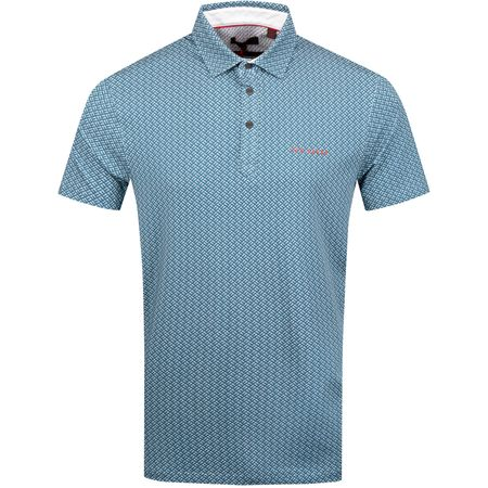 Polo Wallnot Polo Mid Blue - SS19 Ted Baker Picture