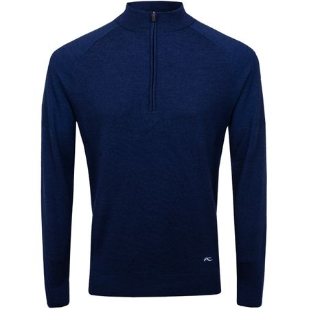 Golf undefined Freelite Kulm Half Zip Pullover Atlanta Blue Melange - 2019 made by Kjus