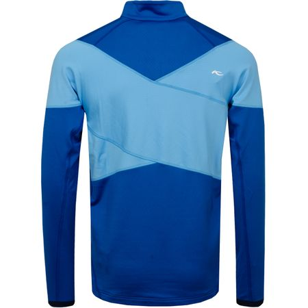 Golf undefined Diamond Fleece Half Zip Pacific Blue/Aqua Splash - SS19 made by Kjus