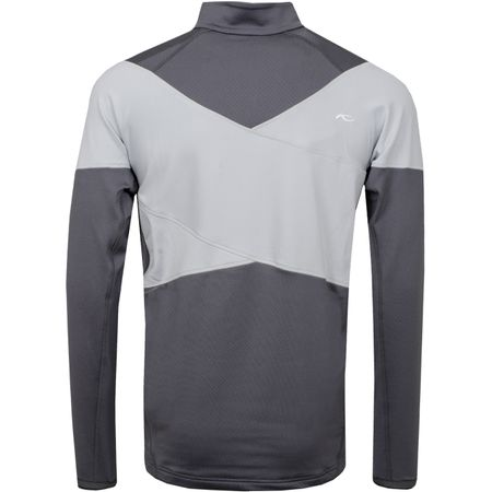 Golf undefined Diamond Fleece Half Zip Steel Grey/Silver Fog - 2019 made by Kjus