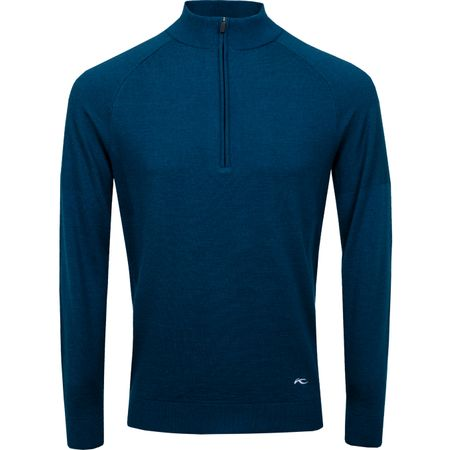 Golf undefined Freelite Kulm Half Zip Pullover Deep Dive Melange - SS19 made by Kjus