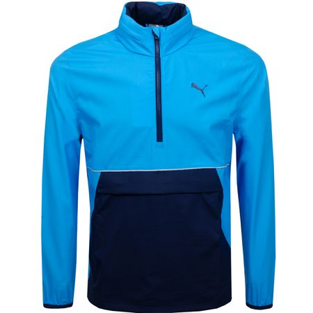 Golf undefined Retro Wind Jacket Bleu Azur - SS19 made by Puma Golf