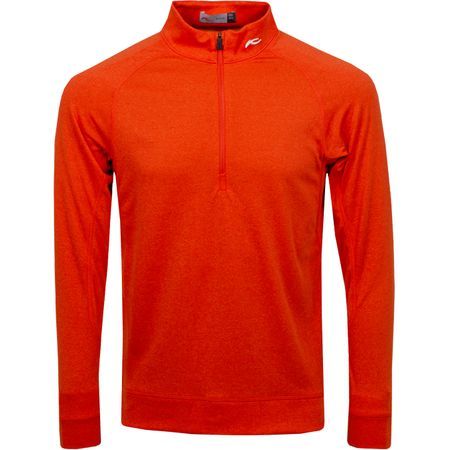 MidLayer Keano Half Zip Blood Orange Melange - SS19 Kjus Picture