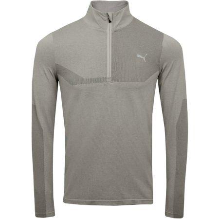 MidLayer Evoknit Quarter Zip Medium Grey Heather - SS19 Puma Golf Picture
