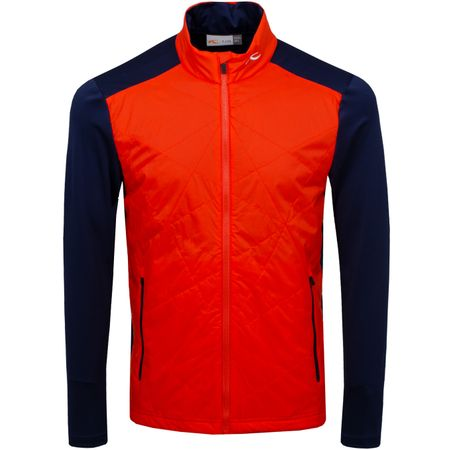 Golf undefined Retention Jacket Blood Orange/Atlanta Blue - SS19 made by Kjus