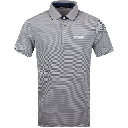 Golf undefined Lightweight Airflow Thin Stripe French Navy/White - SS19 made by Polo Ralph Lauren
