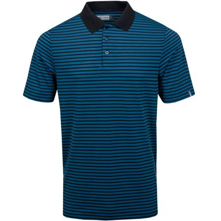 Golf undefined Luis Stripe Polo Deep Dive/Black - SS19 made by Kjus