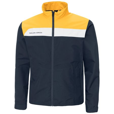 Golf undefined Austin Gore-Tex Jacket Navy/Gold/White - SS19 made by Galvin Green