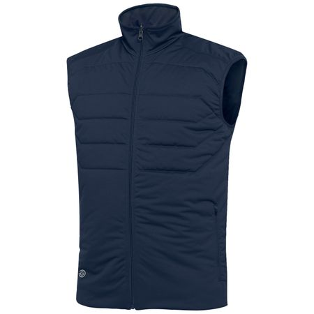 Golf undefined Lawson Interface-1 Gilet Navy - SS19 made by Galvin Green