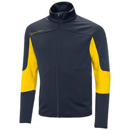 Golf undefined Dale Insula Jacket Navy/Lemon Chrome - SS19 made by Galvin Green