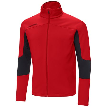 Golf undefined Dale Insula Jacket Red/Black - SS19 made by Galvin Green