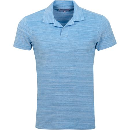 Polo Felix Polo Bahama Blue/Cloud - SS19 Orlebar Brown Picture
