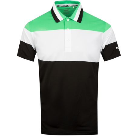 Golf undefined Nineties Polo Irish Green - SS19 made by Puma Golf