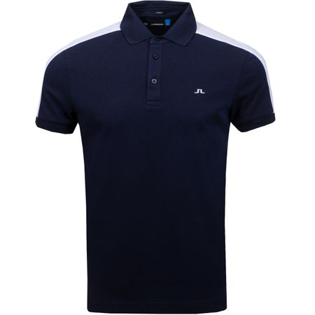 Golf undefined Billi Slim Cotton Poly JL Navy Melange - SS19 made by J.Lindeberg