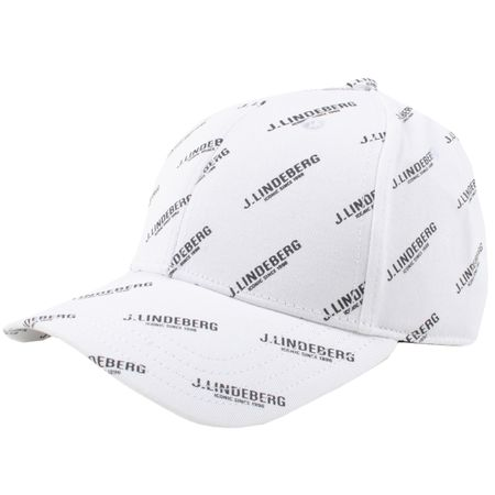 Cap Print Flexi Twill Cap White - SS19 J.Lindeberg Picture