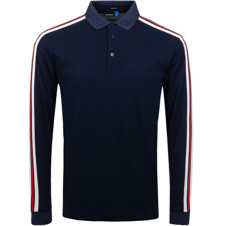 Golf undefined Blue LS Regular Cool Pique JL Navy - SS19 made by J.Lindeberg