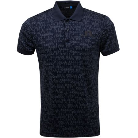 Golf undefined Big Bridge TX Jacquard Regular Fit JL97 Black - SS19 made by J.Lindeberg