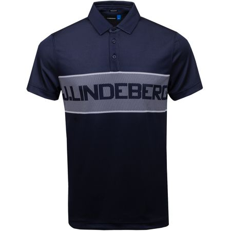 Polo Ade Regular Fit TX Jacquard JL Navy - SS19 J.Lindeberg Picture