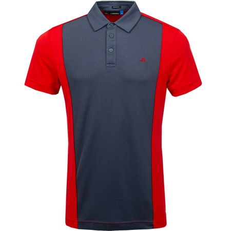 Golf undefined Luke Regular Lux Pique Deep Red - SS19 made by J.Lindeberg