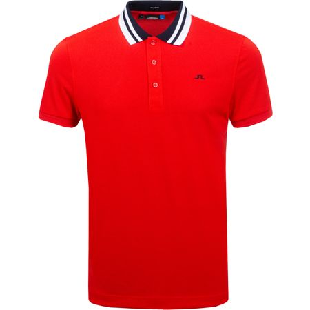 Golf undefined Patrick Regular Cool Pique Racing Red - SS19 made by J.Lindeberg