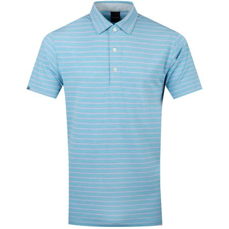 Polo Rathmore Natural Hand Polo Lark Heather/Light Pink Heather - SS19 Dunning Picture