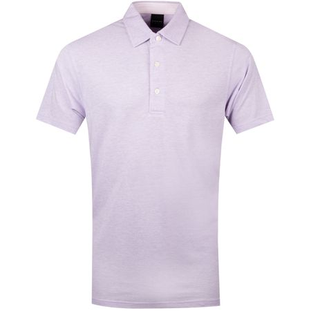 Polo Quin Natural Hand Polo Willow Heather/Aver Heather - SS19 Dunning Picture