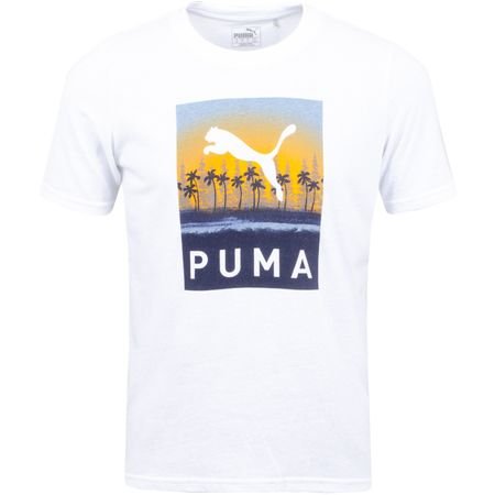 Golf undefined LE Tropics Tee Bright White - SS19 made by Puma Golf