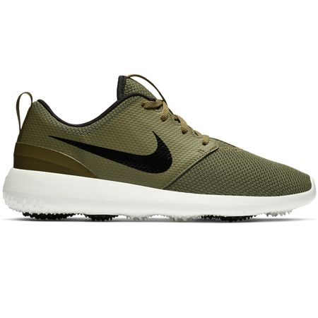 Shoes Roshe Golf Medium Olive/Black - SS19 Nike Golf Picture