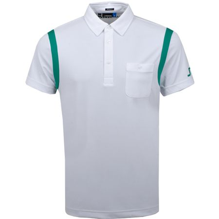 Golf undefined Dolph Slim Fit TX Jersey White - SS19 made by J.Lindeberg