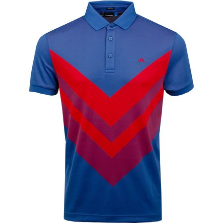Golf undefined Ace Regular Fit TX Jacquard Work Blue - SS19 made by J.Lindeberg