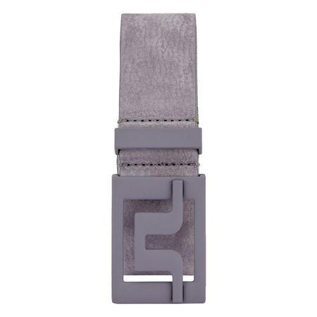 Belt Slater 40 Brushed Leather Dark Grey - SS19 J.Lindeberg Picture