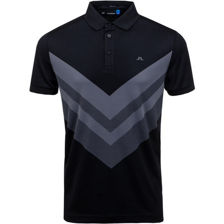Polo Ace Regular Fit TX Jacquard Black - SS19 J.Lindeberg Picture