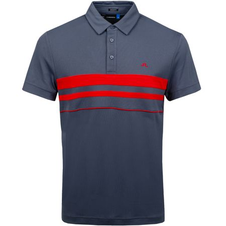 Polo Leo Regular Lux Pique Dark Grey - SS19 J.Lindeberg Picture