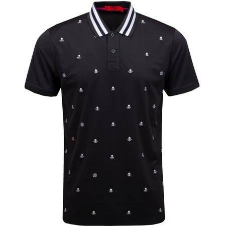 Golf undefined Skull & T's Embroidered Polo Black Ink - SS19 made by G/FORE
