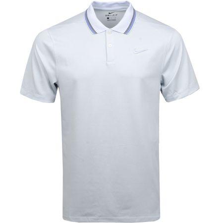 Polo Dri-Fit Vapor Control Stripe Polo Pure Platinum - 2019 Nike Golf Picture