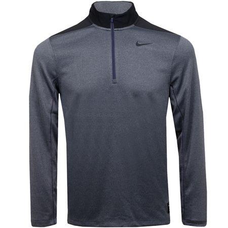 MidLayer Core Half Zip Dry Top Gridiron/Cool Grey - 2019 Nike Golf Picture