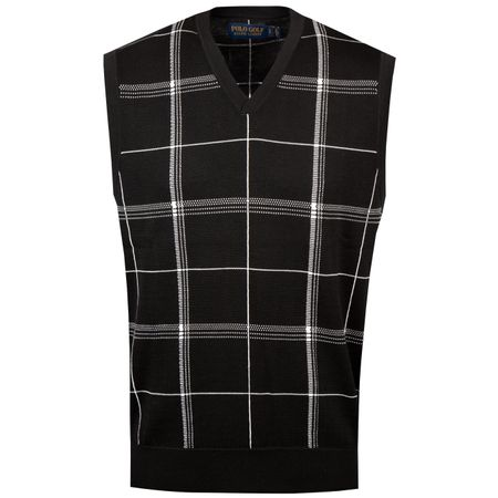 Golf undefined Thermocool Plaid Vest Polo Black/Pure White - SS19 made by Polo Ralph Lauren